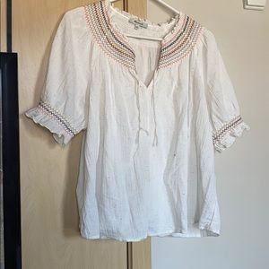 Madewell speckled top